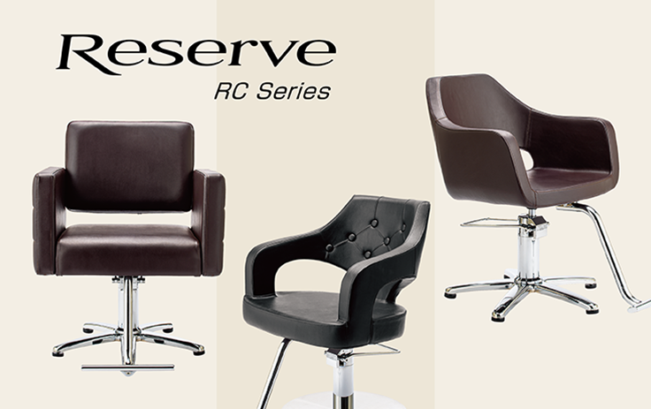 RESERVE STYLING CHAIRS (with Hydraulic pump)